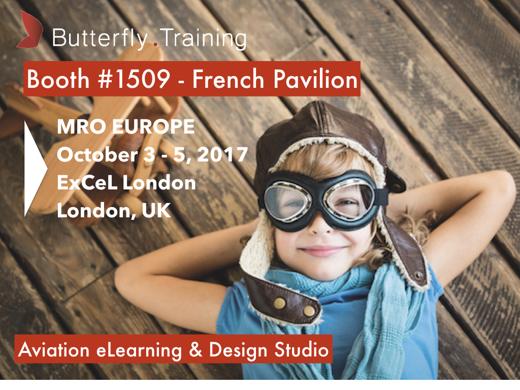 Butterfly Training at MRO Europe 2017